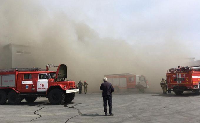 Шубы сгорели в Новосибирске