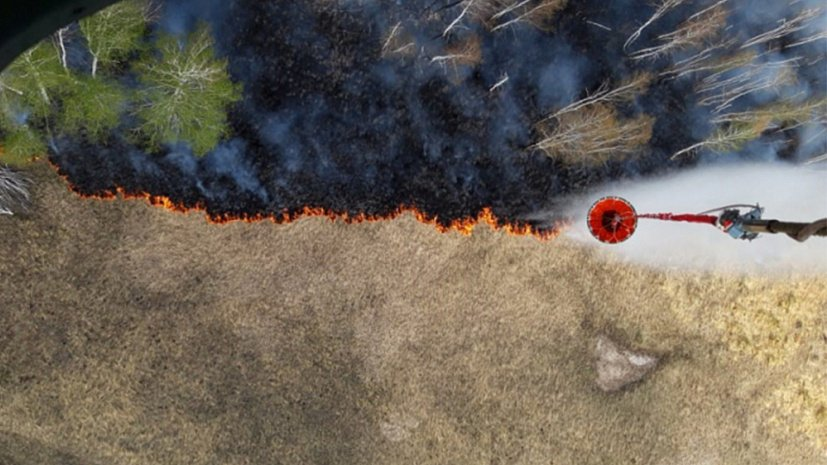 В Челябинской области от природных пожаров спасли шесть населенных пунктов