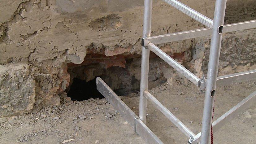 Под зданием Камерного театра в Челябинске обнаружили катакомбы