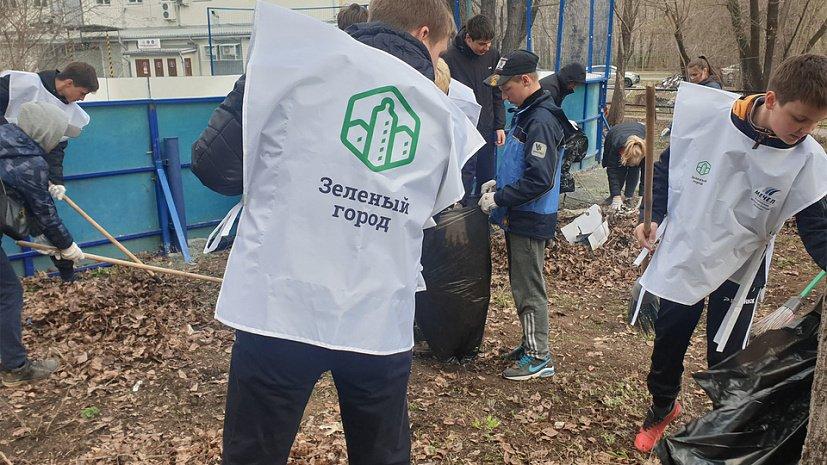ЧМК начал акцию по благоустройству и уборке городских дворов