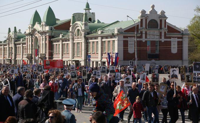 Бессмертный полк-2019 в Новосибирске: 250 тысяч участников