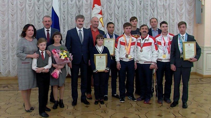 Призеров Олимпиады для особенных спортсменов наградили в Челябинской области