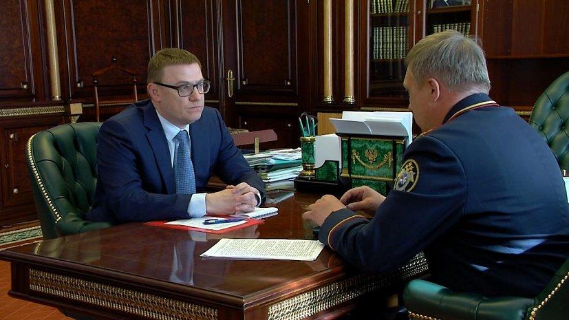Трагедией назвал массовое убийство в Нязепетровске Алексей Текслер