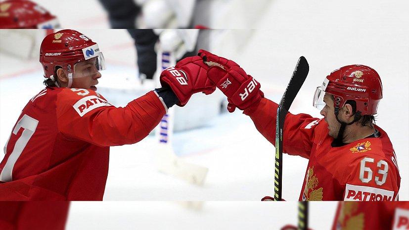 Сборная России разгромила Австрию во втором матче ЧМ-2019