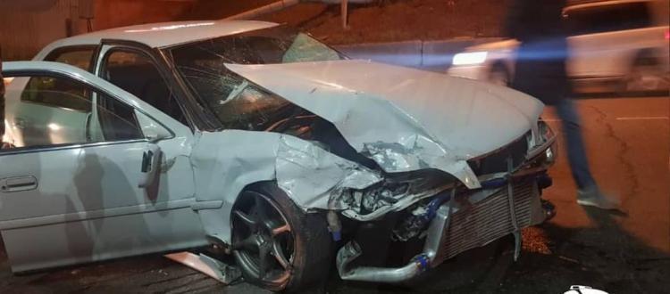 Жёсткое ДТП произошло ночью во Владивостоке