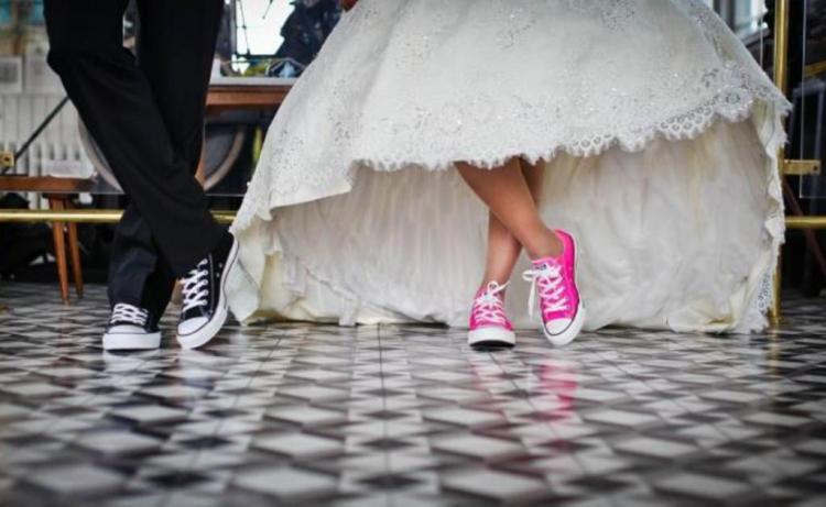 Необычную свадьбу отмечают приморцы в Хабаровске