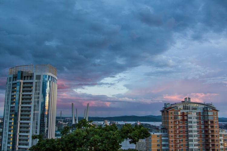 Владивосток накрыл туман