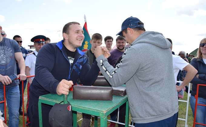 Казаки региона собрались на фестиваль под Карасуком