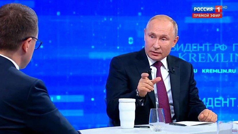 Челябинец поинтересовался, не устал ли Владимир Путин от президентства