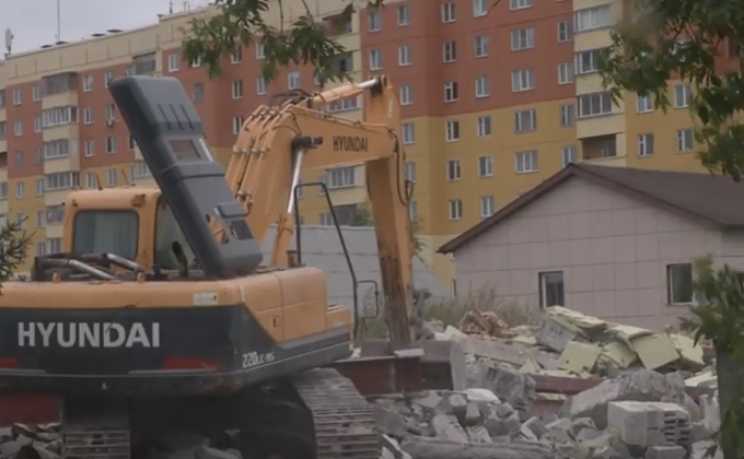 Нелегальную церковь снесли в Новосибирске