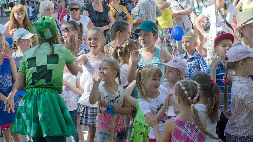 Юных челябинцев ждут на праздник добра в парке Гагарина