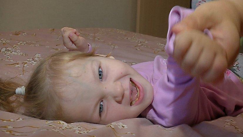 Медиахолдинг ОТВ призывает помочь 5-летней Милене победить ДЦП и эпилепсию