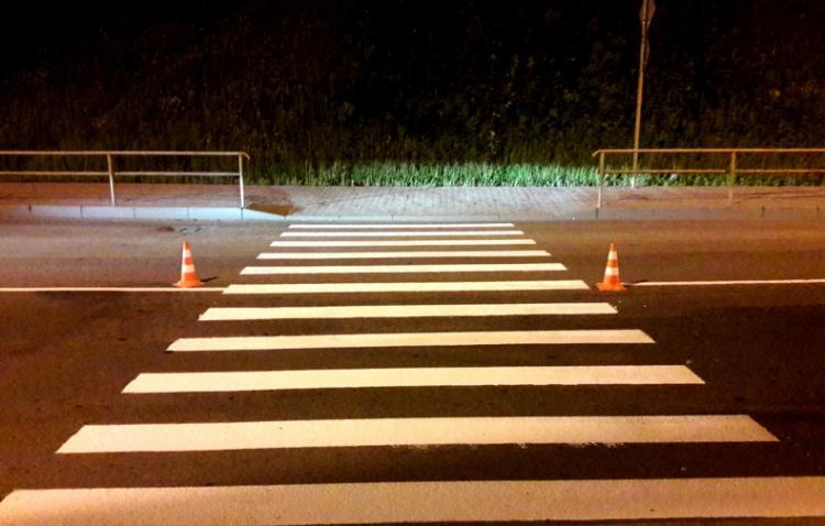 Дорожные службы Владивостока обновляют разметку
