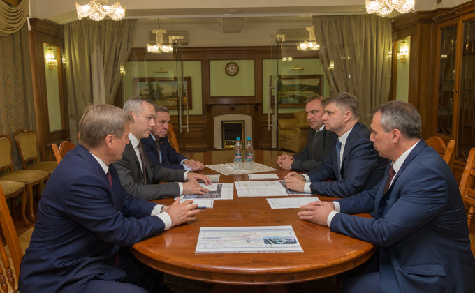 Губернатор и гендиректор «РЖД» осмотрели объекты пассажирской инфраструктуры