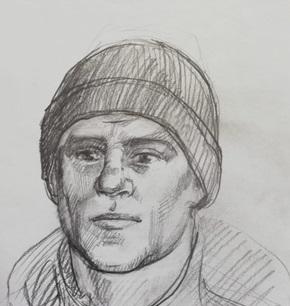 Мужчину славянской внешности разыскивает полиция