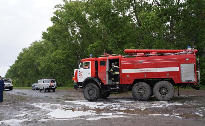 Бердчане жгут: горели документы, мусорные контейнеры и овощехранилище