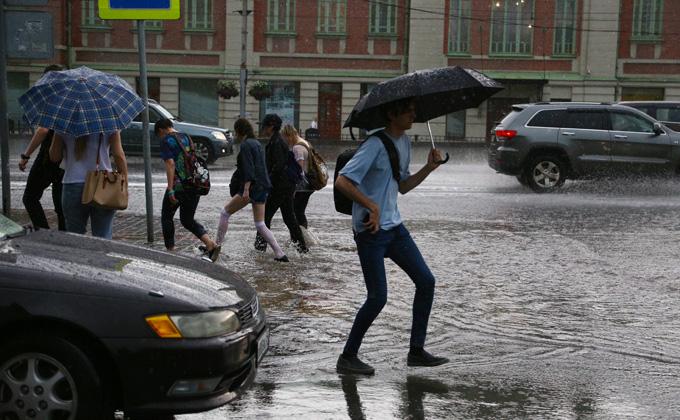 Аномальную погоду в августе 2019 предсказывают новосибирцам