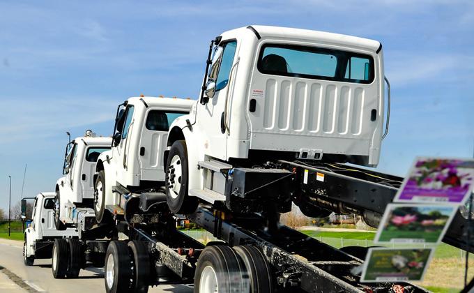 Популярность мини-грузовиков подскочила в Новосибирске