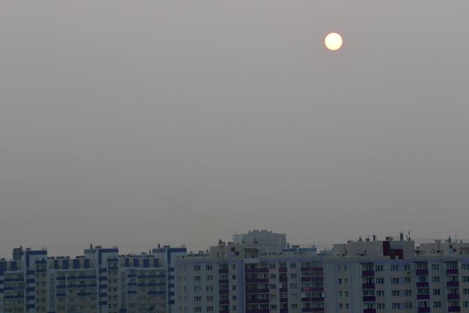 Обсерваторию закрыли из-за смога в Новосибирске