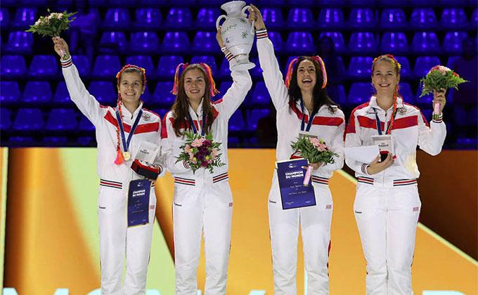 Золото завоевала новосибирская фехтовальщица на чемпионате мира