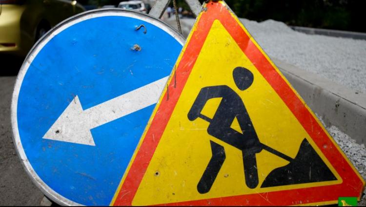 Во Владивостоке ремонт тепловой сети ограничил движение по одной из улиц