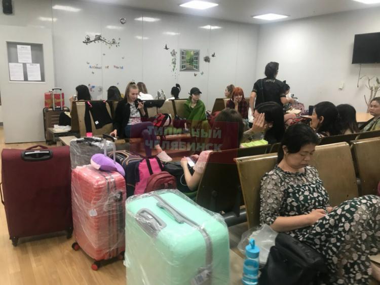 Россияне «застряли» в аэропорту Сеула