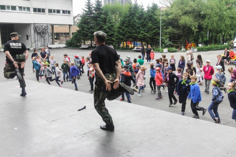 «Гвардейские игры» стартовали во Владивостоке