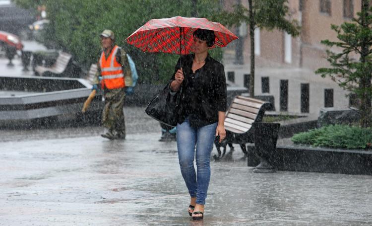 Сильный ливень накроет Приморье в конце текущей недели