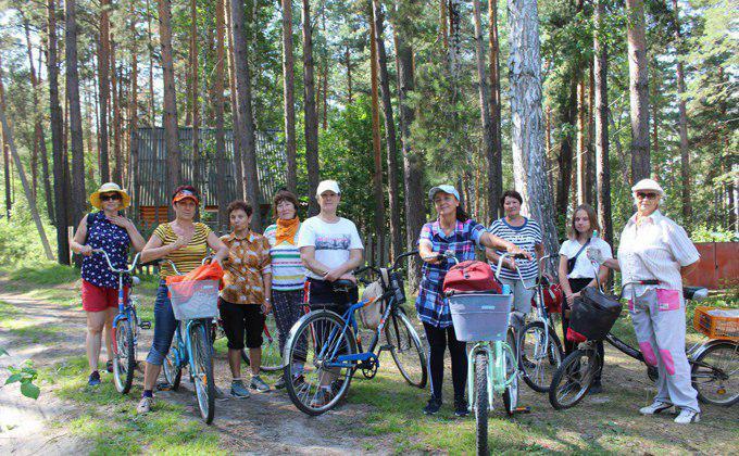 Велопробег в деревню с семью жителями устроили ордынцы