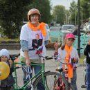 Баба Люба с Масляковым-старшим вышла на велопробег в Куйбышеве