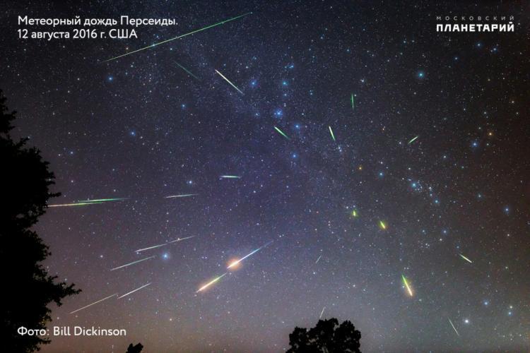 Астроном заснял, как с неба Приморья сыпятся звёзды
