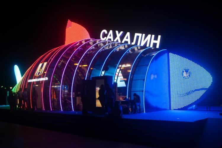 Миллионы поплыли: главный экспонат ВЭФ затопило на острове Русский