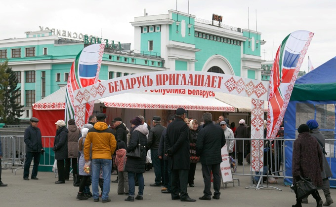Ярмарка белорусских товаров возвращается в Новосибирск осенью-2019