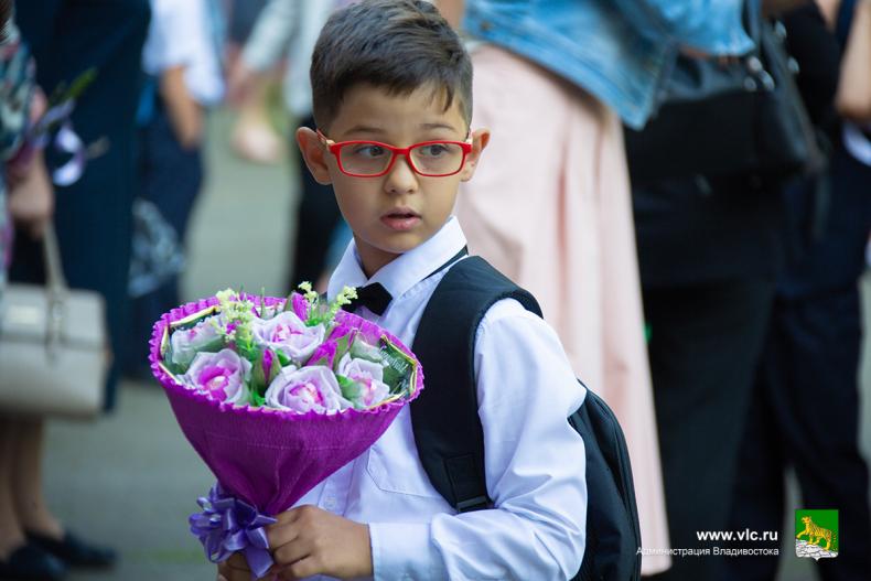 Глава города поздравил с Днём знаний  учеников 23 школы Владивостока 1 (1).jpg