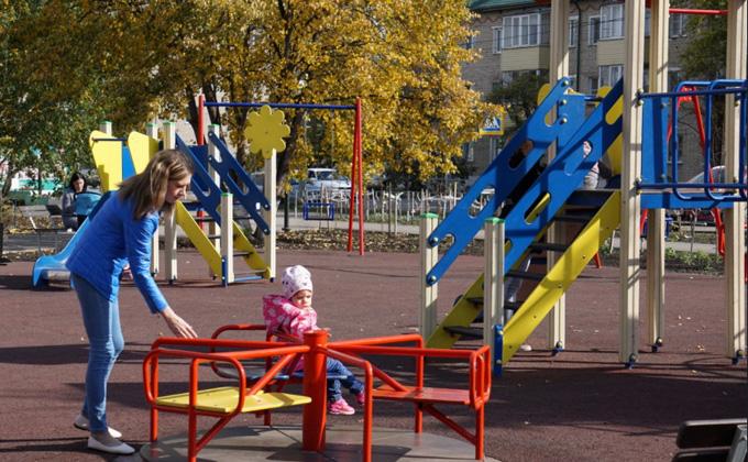 Сквер «Спортивный» торжественно открыли в Куйбышеве