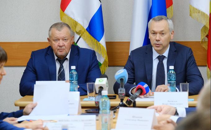 Андрей Травников оценил качество подготовки Татарского района к предстоящему отопительному периоду