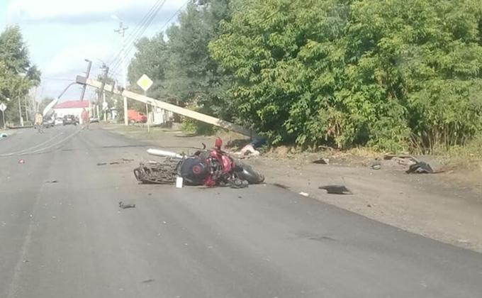 Насмерть сбил женщину мотоциклист в Куйбышеве
