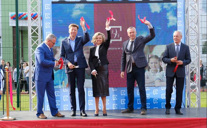 Две школы в Новосибирской области открыты после масштабной реконструкции