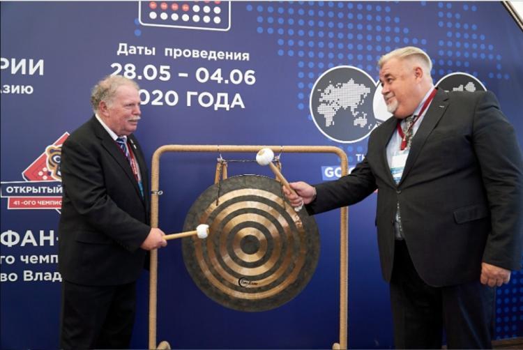 Международный турнир по игре в го проходит на ВЭФ
