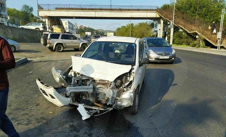 Две аварии на одной дороге произошли во Владивостоке