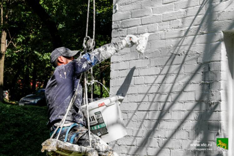 Мэрия напоминает о необходимости содержать в чистоте фасады зданий