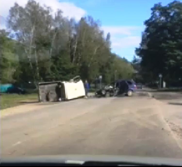 Серьёзная авария произошла в Приморье