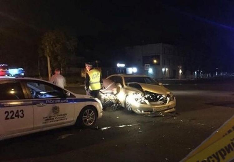 Ночью в Приморье произошло жёсткое ДТП