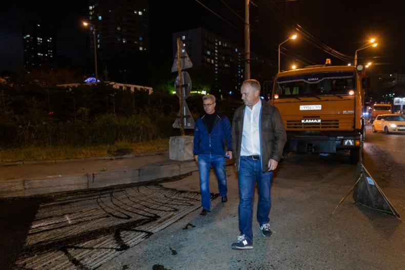 Глава Владивостока Олег Гуменюк: Качество и сроки – главные критерии, по которым будем оплачивать дорожные работы