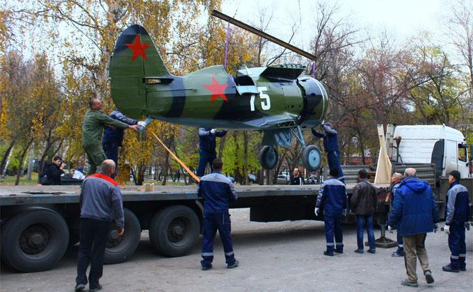 Сбитый истребитель «Чайка» времен войны восстановили в НГТУ