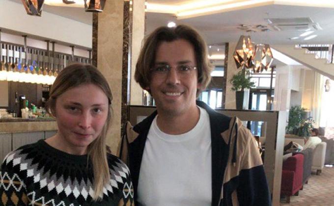 Максим Галкин обедал в «Марриотте» перед концертом в Новосибирске