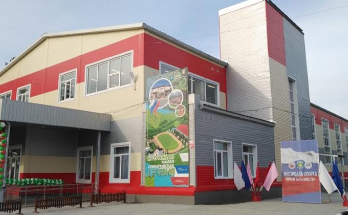 Спорткомплекс открылся в Сузунском районе в рамках нацпроекта «Демография»