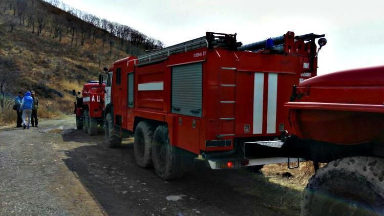 Спасатели потушили 33 пожара в Приморье