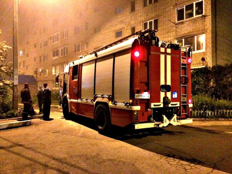 Пожар чуть не уничтожил жилой дом в Приморье
