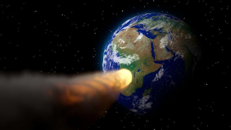 К Земле со скоростью 40 тысяч километров в час приближается астероид